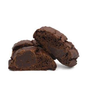 Cantucci al cacao e cioccolato
